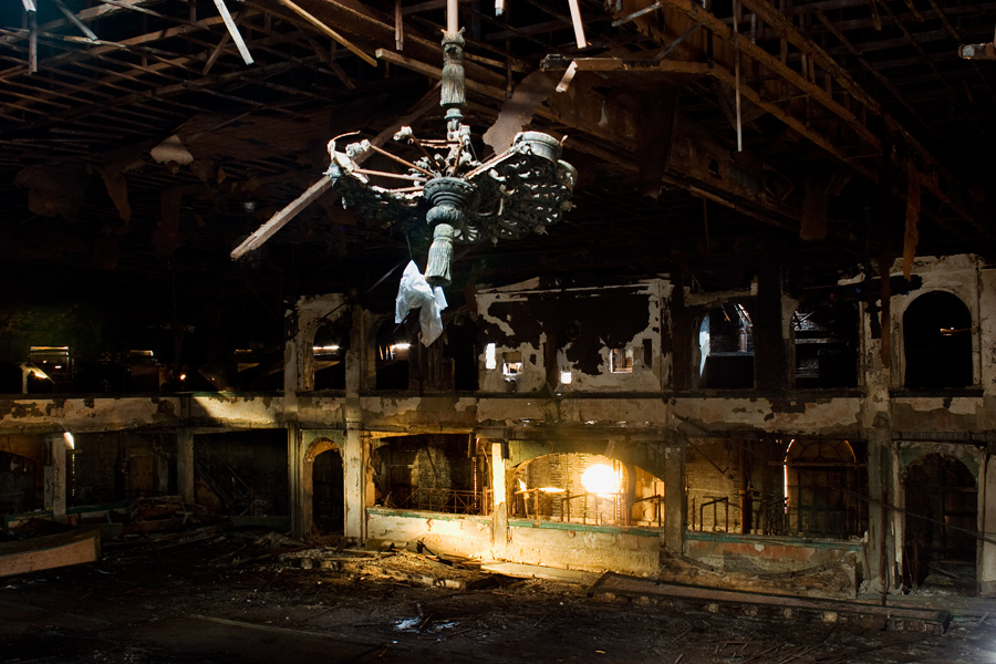 An Abandoned Ballroom in Harlem
