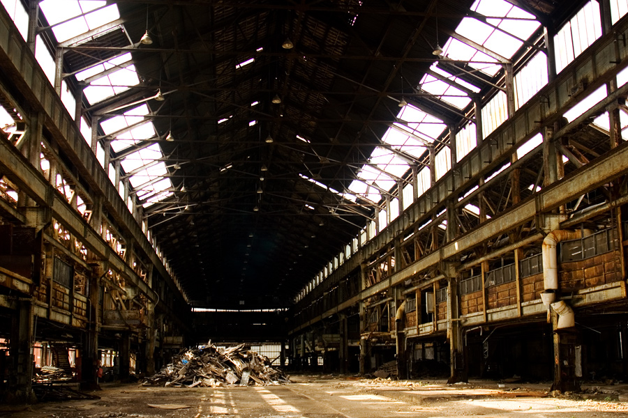 Inside the Brooklyn Navy Yard