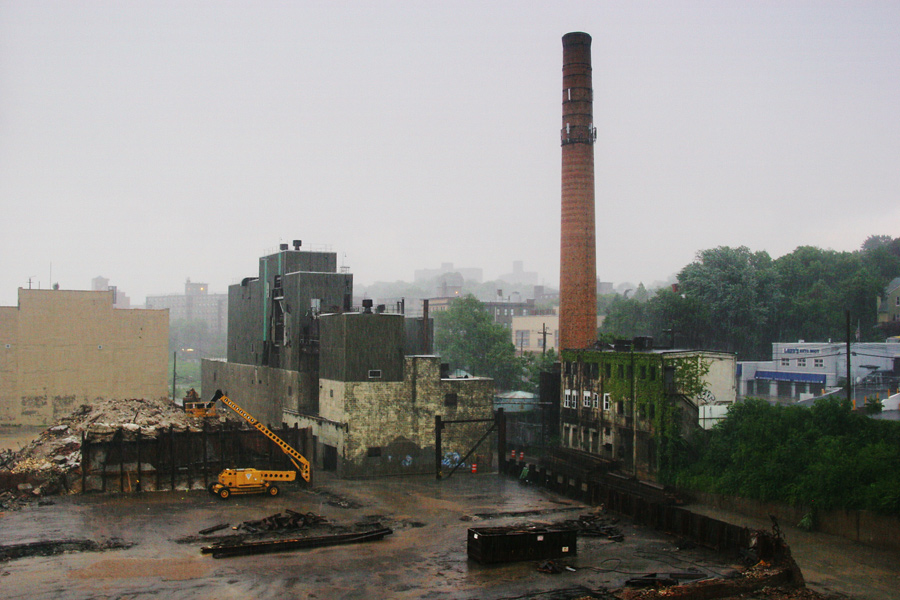 An Abandoned Factory in Staten Island