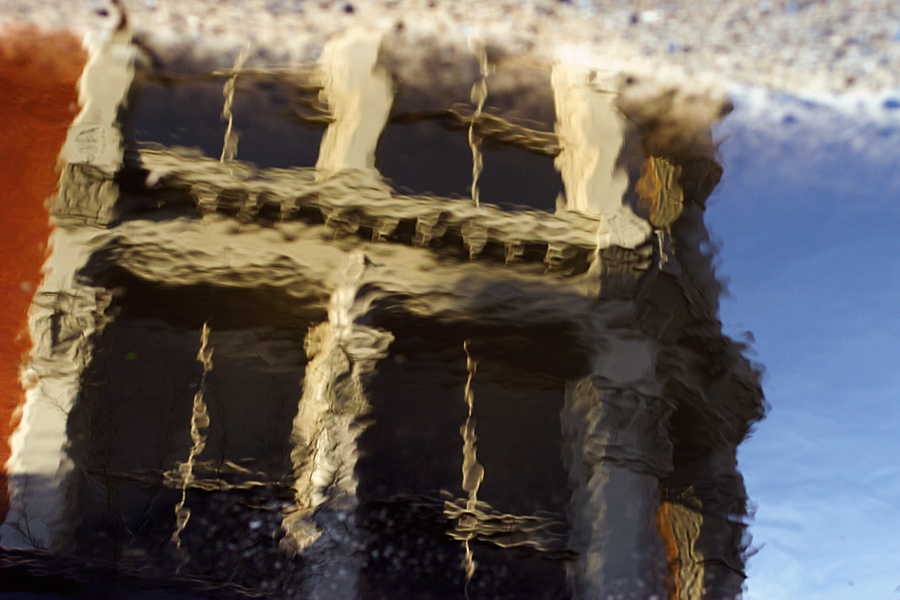 Reflection on Wooster Street