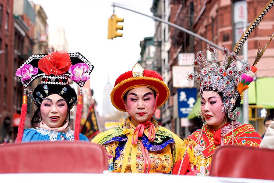 At the Chinese New Year Parade