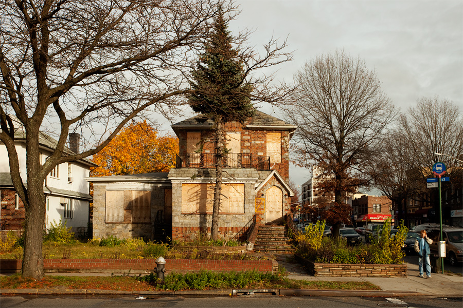 An Abandoned House in Midwood