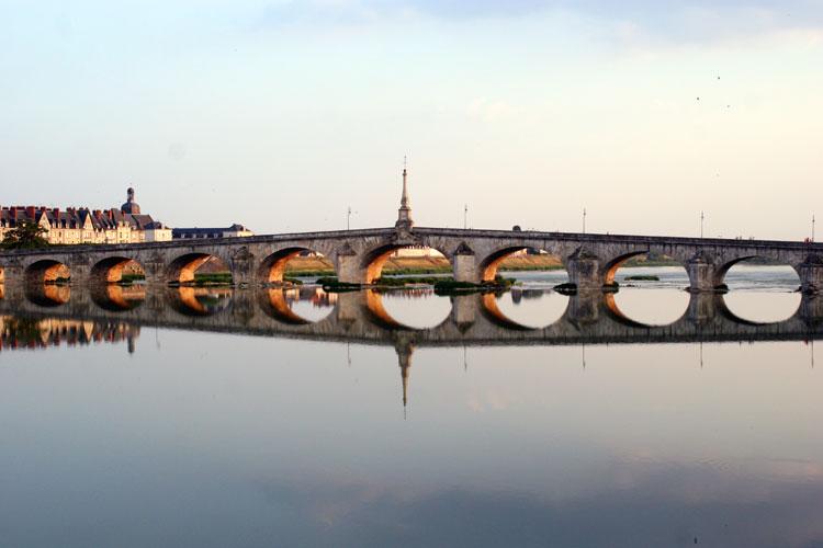 Three Views of the River Loire