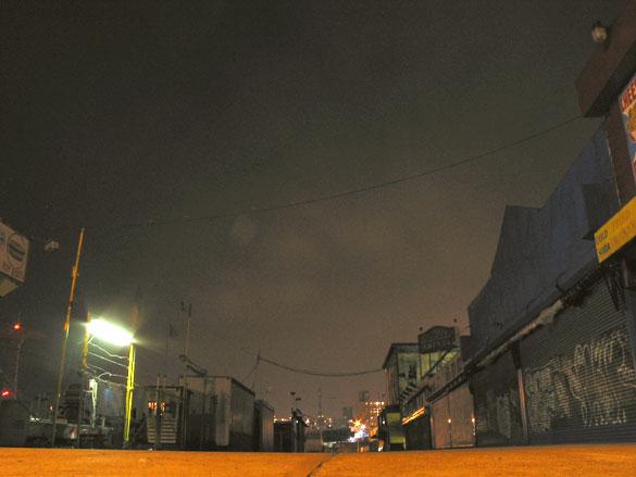 Coney Island, 11pm