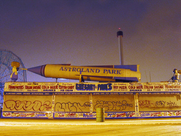 Coney Island, 11pm