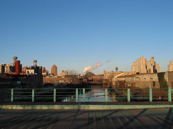 gowanus in winter