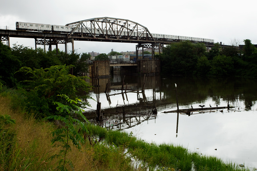 The Bronx River and the Westchester Avenue Bridge