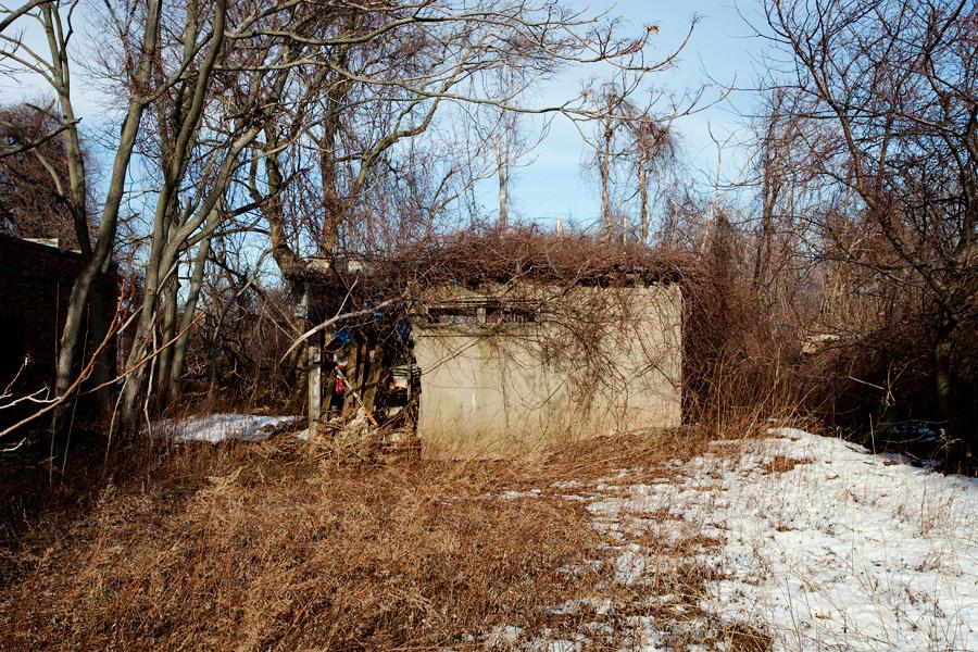 A Small Building at Floyd Bennett Field