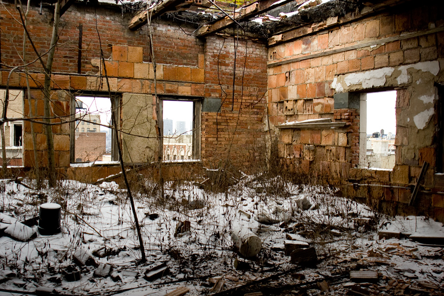 An Abandoned School in Harlem