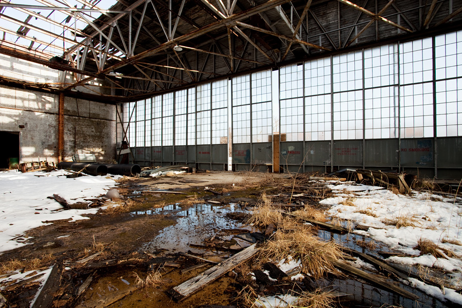 A Hangar at Floyd Bennett Field