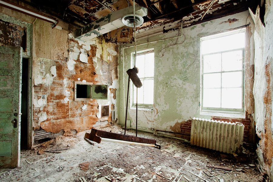 The Abandoned Hospital at Fort Totten