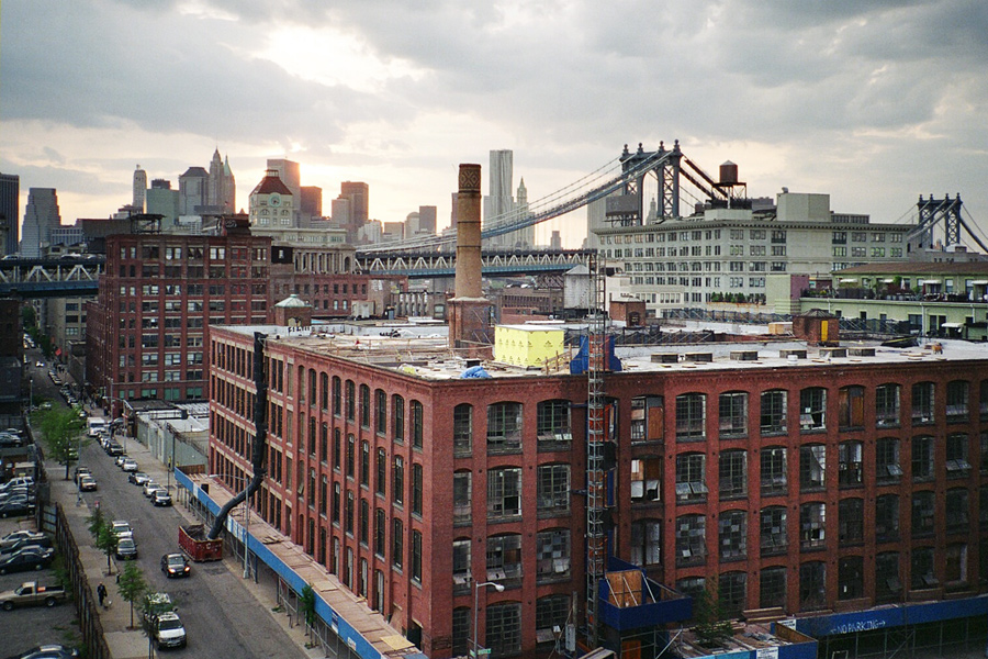 From a Rooftop in Vinegar Hill