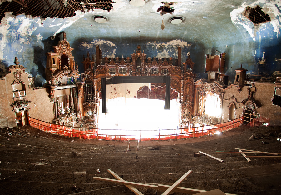 The main arch at the RKO Keith's Theater