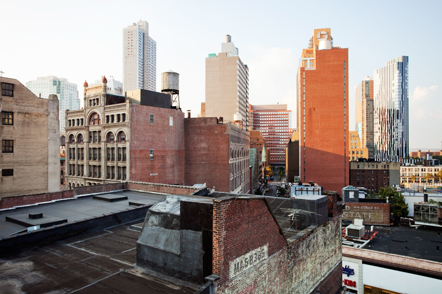 Downtown Brooklyn from the A&S Garage