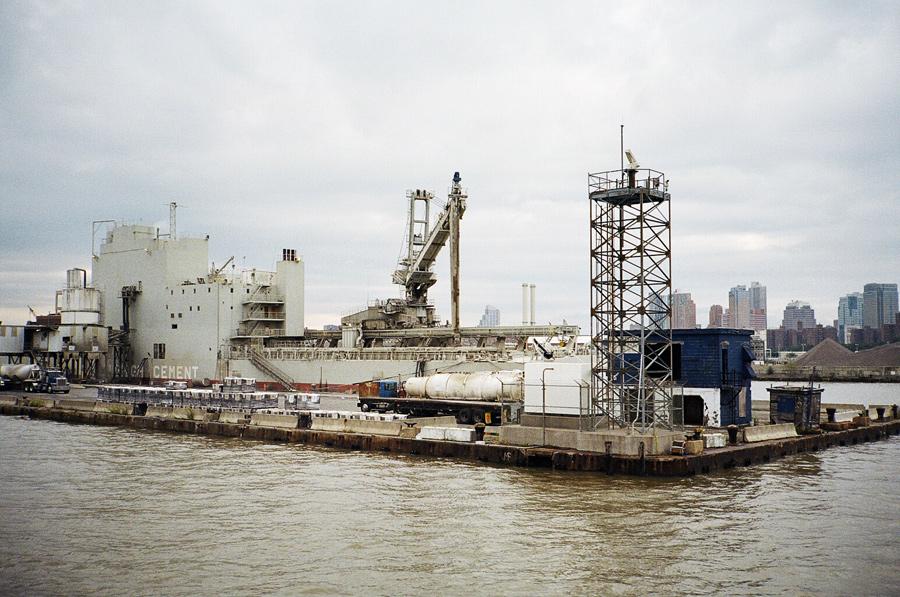 A pier at the Brooklyn Navy Yard